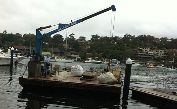 Boat Shed Rebuild – Water Access
