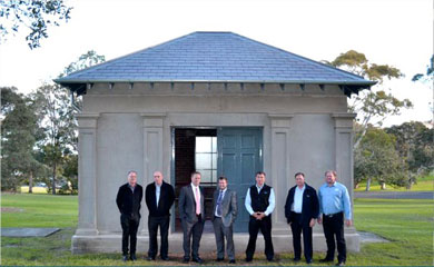 Centennial Park Heritage Listed Building Restoration